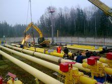 Строительство нового газопровода
