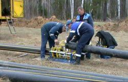 Строительство подводящего газопровода в деревню Ёксолово
