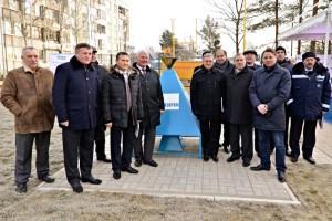 Открытие газопровода в п. Мины Гатчинского р-на
