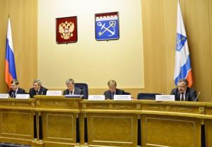 А.И. Денищиц на заседании Совета