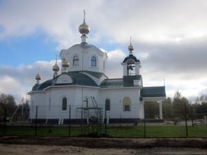 Успенский храм в п. Барышево