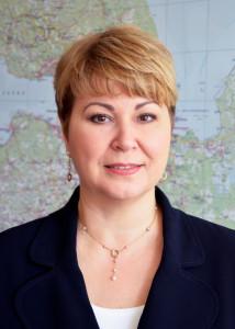 Генеральный директор АО «Газпром газораспределение Ленинградская область» Светлана Гаркушина